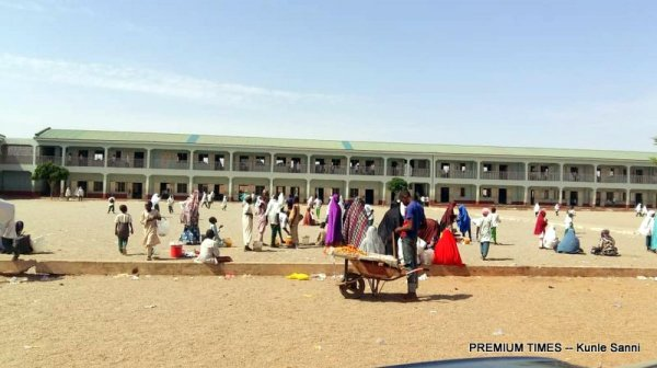 WaziriZayyala Science Model Primary School, Rafindadi in the state capital.