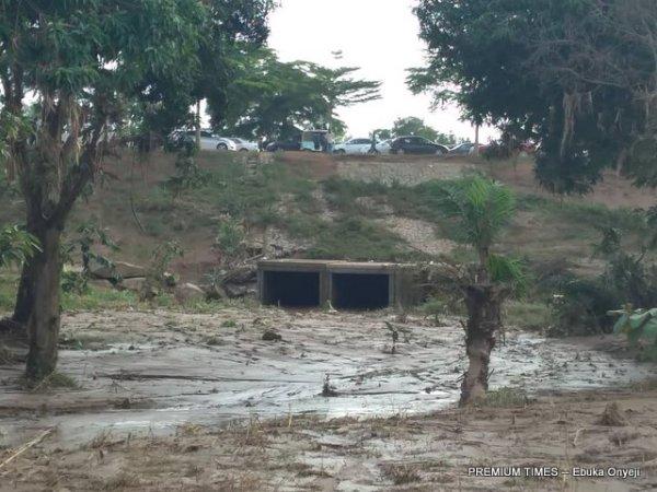 Bridge at Galadirmawa where man got drowned after Friday morning rain