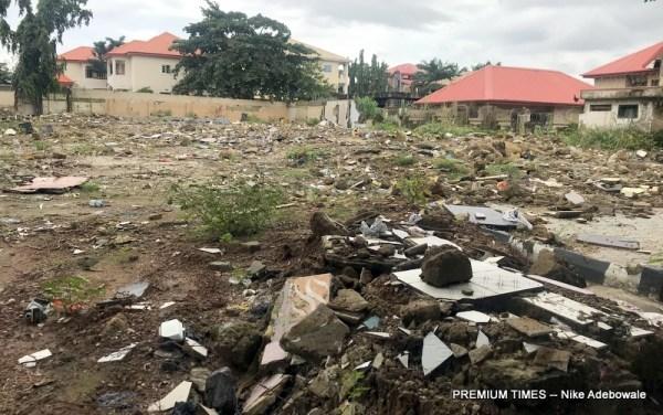 The demolished caramelo club