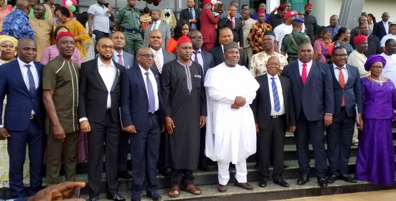 Ugwuanyi swears in Enugu commissioners, advisers - Premium Times