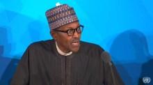 Buhari at The UNGA