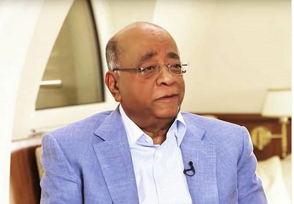 Mo Ibrahim. [PHOTO CREDIT: Mo Ibrahim Foundation Instagram Page]