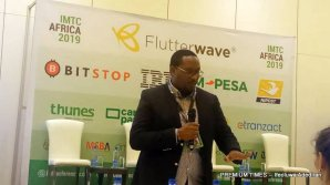 Richard Muriithi - MTN Group Head of Remittance and cross border payments - (Uganda) while speaking at IMTC Africa 2019.