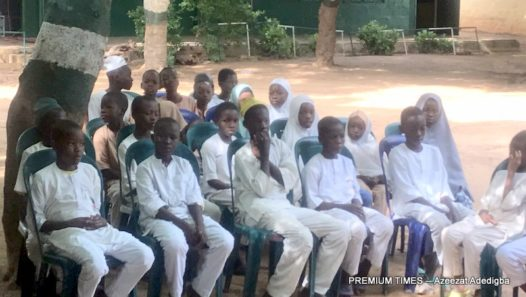 Pupils of Warure special primary school, Kano State.