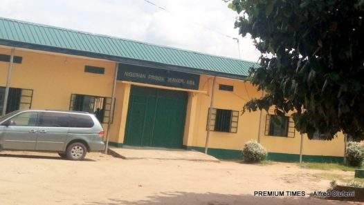 Entrance of the Prisons in Aba