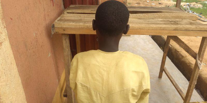 Rape victim, Mustapha Haruna