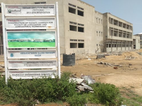 Ongoing...Faculty of Agric Tech building (1)