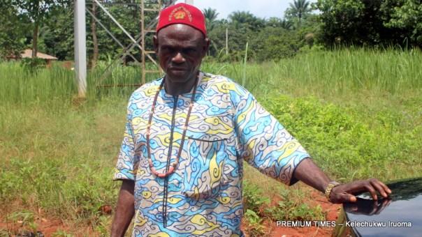 Traditional ruler, Igwe Fabian Chukwueke