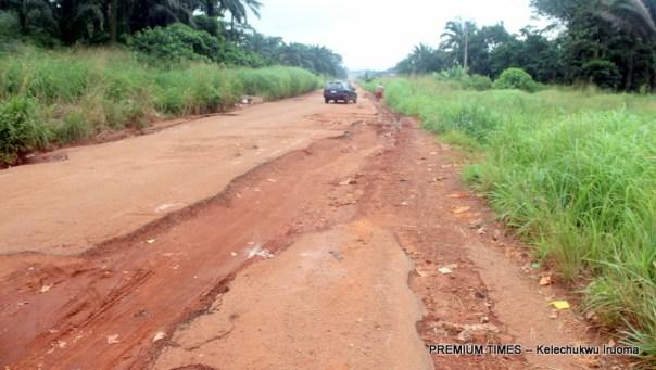 Uncompleted road Nsukka/Adani road in Uzo Uwani