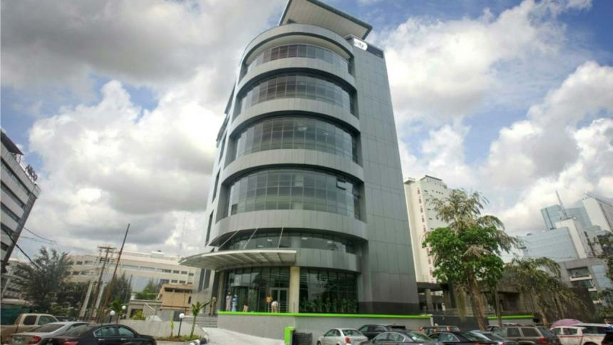 Headquarters of Unity Bank Plc in Lagos. [PHOTO CREDIT: The Guardian Nigeria]