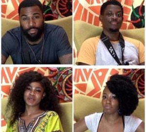 Nominated housemates (Source: DStv)