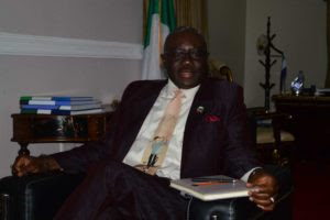 Solomon Gembeh, High Commissioner of Sierra Leone to Nigeria