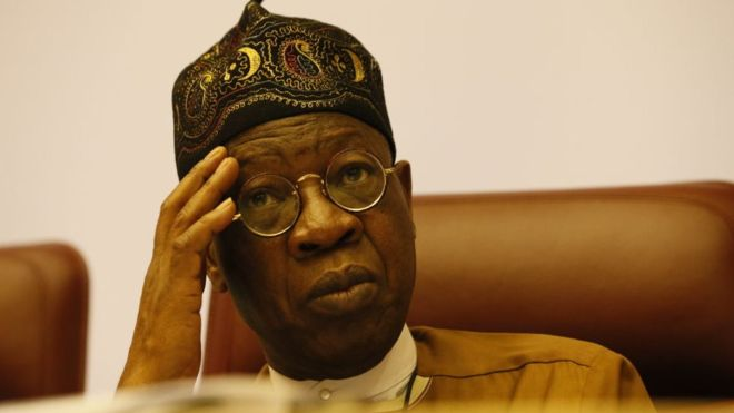 Lai Mohammed [Photo: BBC]