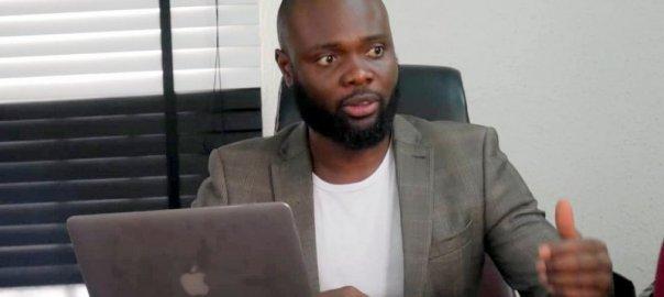 Nigerian Lawyer and activist, Martin Obono.