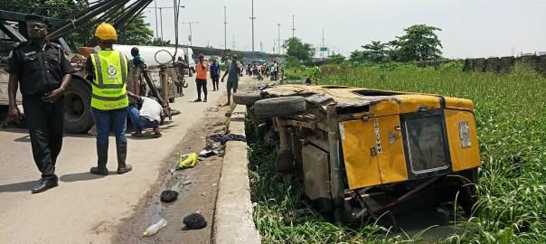 Accident Scene in Lagos
