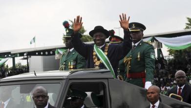 Goodluck Jonathan swearing in