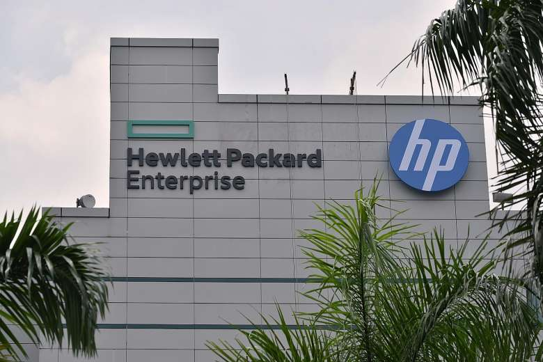 Hewlett-Packard Enterprise [PHOTO CREDIT:The Straits Times]