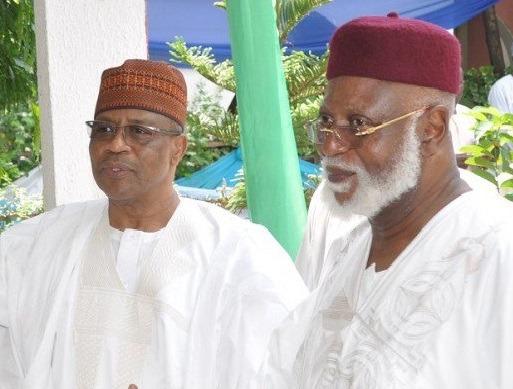 Ibrahim Babangida and Abdusalami Abubakar