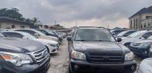 An automobile shop at Awolowo way, Ikeja