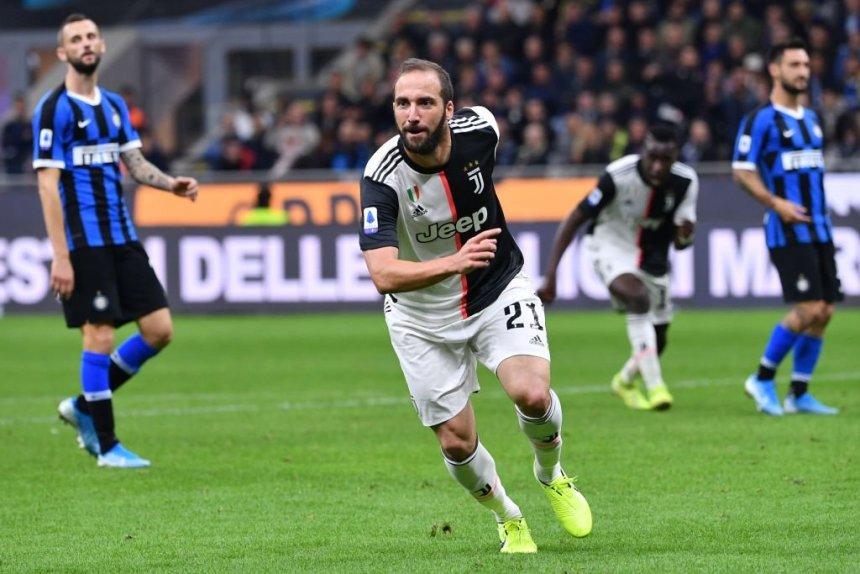 Gonzalo Higuain celebrates goal. [PHOTO CREDIT: Official Twitter handle of Juventus]