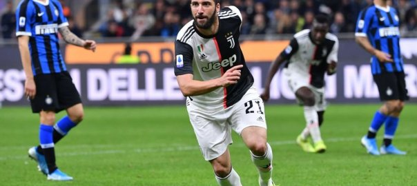 Gonzalo Higuain celebrates goal. [PHOTO CREDIT: Official Twitter handle of Juventus]