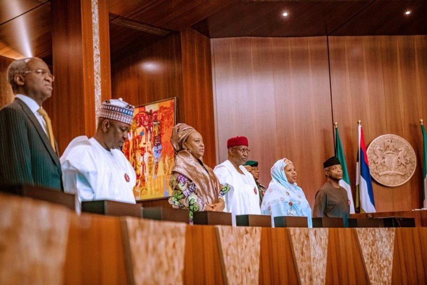 The FEC meeting presided by Vice President Yemi Osinbajo