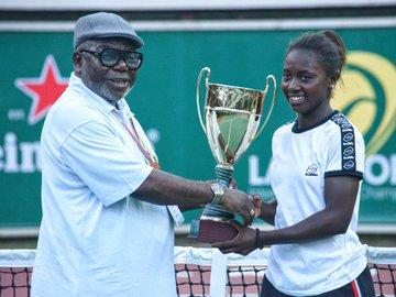 Lagos Open Women's Single Winner2