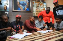 Davido signs Lil Frosh to DMW record