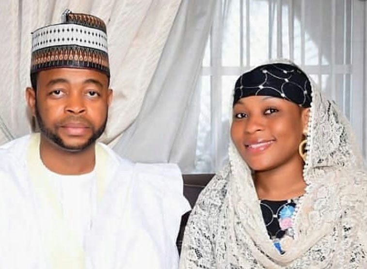 Mansura Isah and Sani Danja