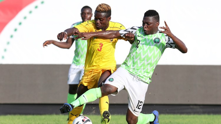 Nigeria vs Togo at Wafu Cup of Nations [PHOTO CREDIT: ESPN]
