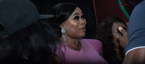 Sola Sobowale at the Africa Movie Academy Awards (AMAA)2019 in Lagos on Sunday night