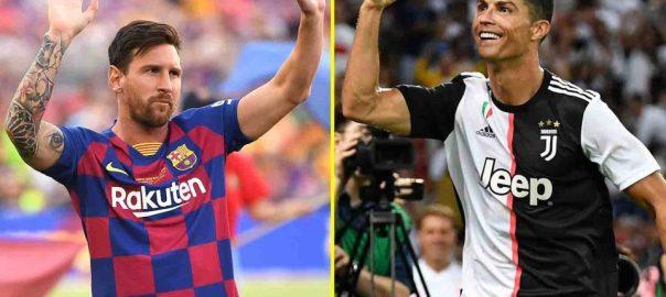 Messi and Ronaldo [TALKSPORT]