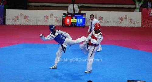 Taekwondo; Photo Credit: Making of Champions