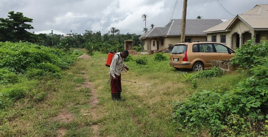 On Akure's edges, which used to be mainly farmland, buildings are taking over.