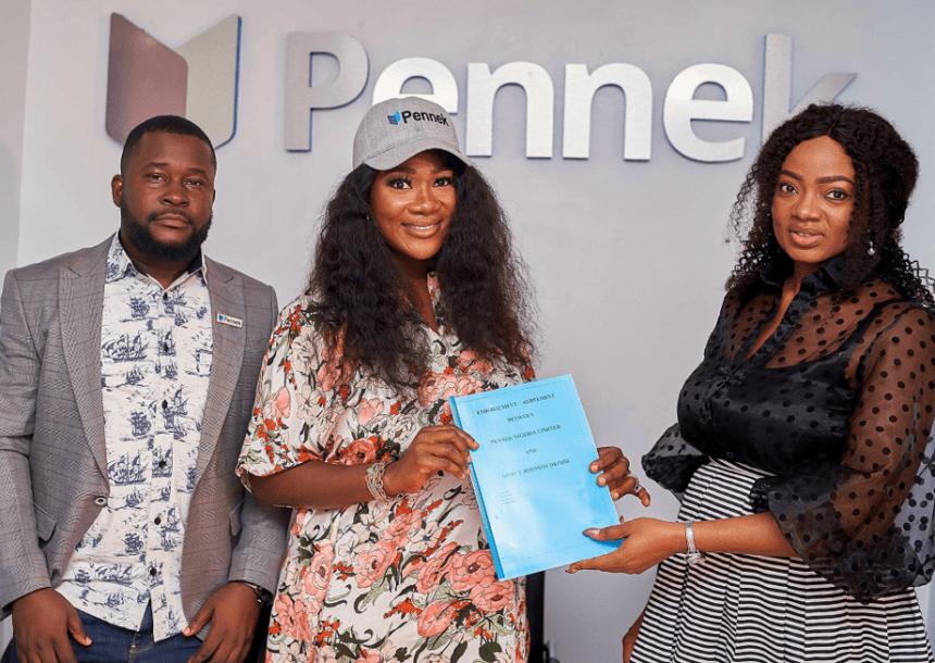 Nigerian actress Mercy Johnson bags Pennek's Brand Ambassador
