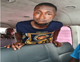 Confidence Friday, suspected kidnap kingpin from Bodo