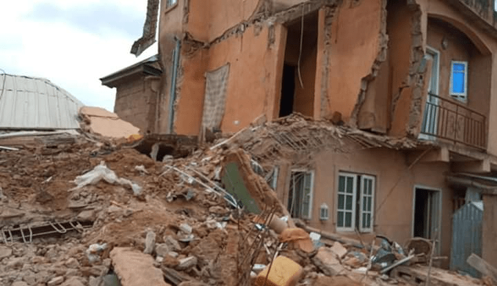 Building collapses in Jos - Premium Times