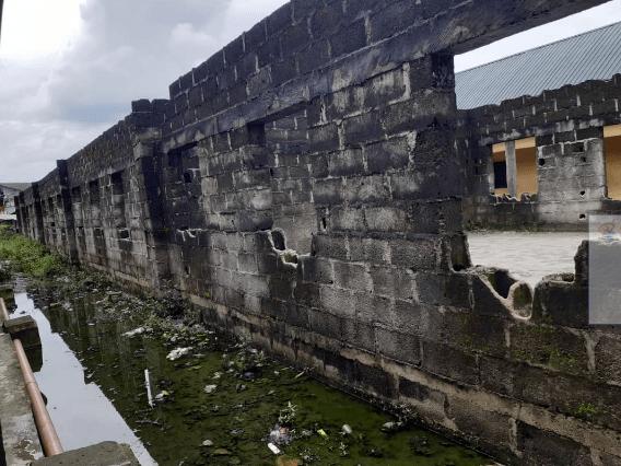 Abandoned project at Bundu