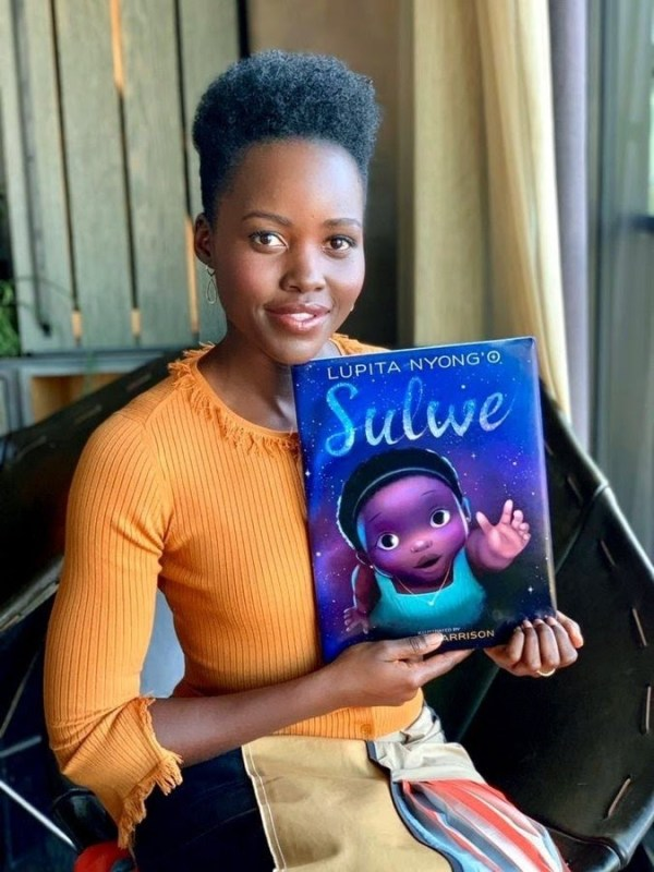 Lupita wades into melanism in debut book, Sulwe