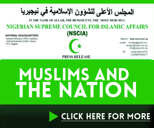 Muslims and nation advert