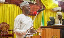 Governor Seyi Makinde of Oyo State presenting a budget proposal[PHOTO CREDIT: @seyiamakinde]