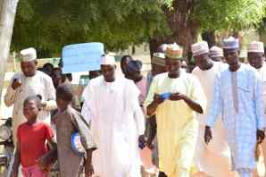 Protest in Rano Emirate over the nullification of the creation of the Kano Emirates by the government in the court