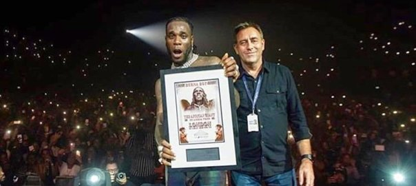Burna Boy wins 'Best Africa Act