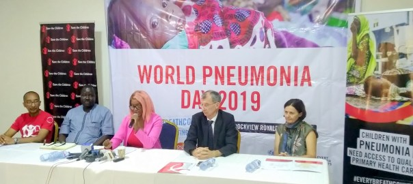 The Press release on World Pneumonia day