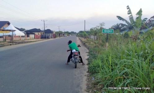 Expressway to Odi Community.
