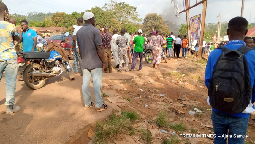 The armed robbery accident in Ekiti