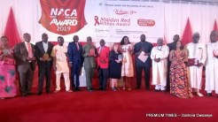 Cross section of some of the recipients of the the NACA RED RIBBON AWARD