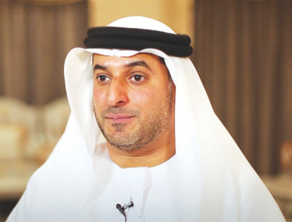 Director-General of the Abu Dhabi Chamber, Mohamed Helal Al Muhairi  (Photo Credit: Emirates Business)