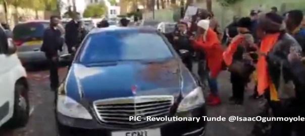Protesters - Revolutionary Tunde @IsaacOgunmoyole