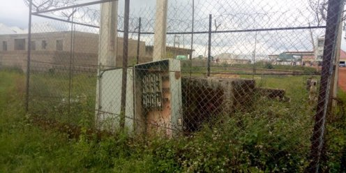 The site where consumers contributed to have their transformer replaced at Agingi in Plateau State. Jos DisCo took the old one without bringing a new one but took money